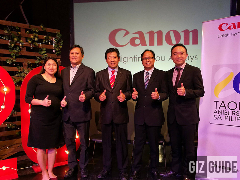 Canon Celebrates Their 20th Anniversary In The Philippines With Exciting Plans, Promos, And Products!