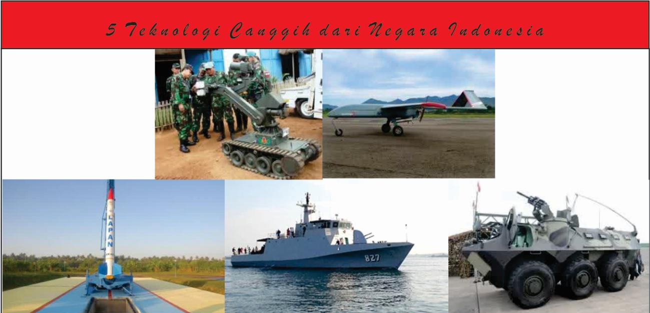 5 Teknologi Canggih dari Negara Indonesia
