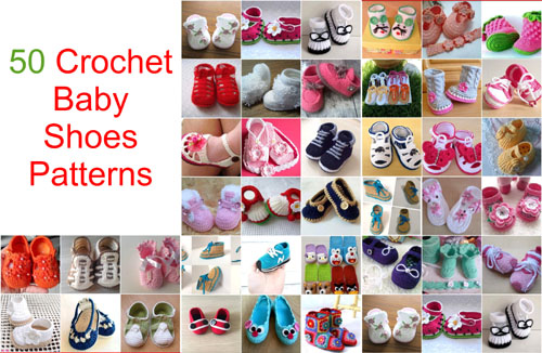 Crochet Baby Shoes Inspirations