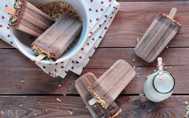 Festhalten! Nutella-Eis am Stiel!