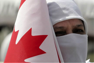 """Canadian"" in Niqab"