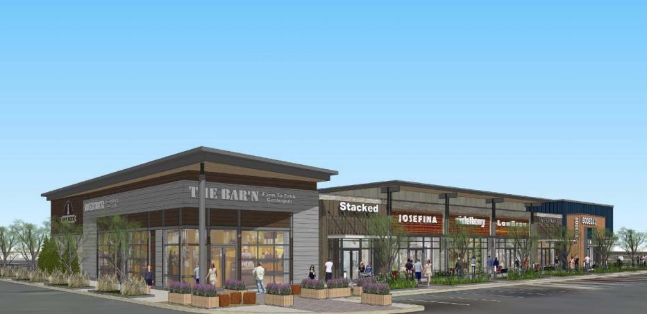 New Restaurant Construction : Robert dyer bethesda row new montrose crossing retail