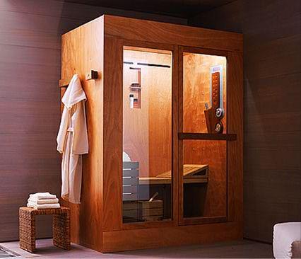Ducha sauna y sala de vapor en una sola cabina  Tris  BonitaDecoracincom