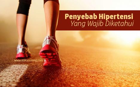 Penyebab Hipertensi Yang Wajib Diketahui