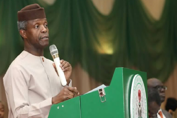 Osinbajo speaks on 'dead Buhari replaced by Jubril'