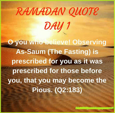 ramadan day 1 quotes