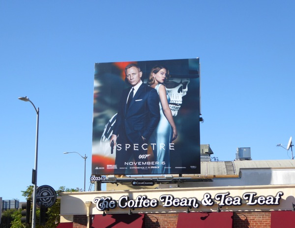 007 Spectre film billboard