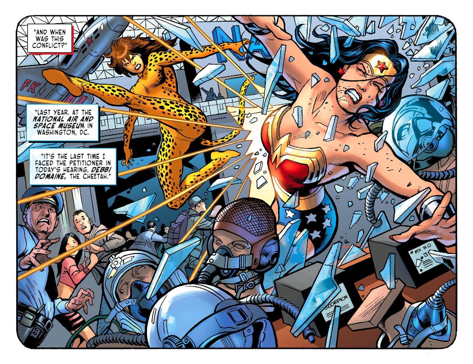 Sensation Comics Featuring Wonder Woman Comic