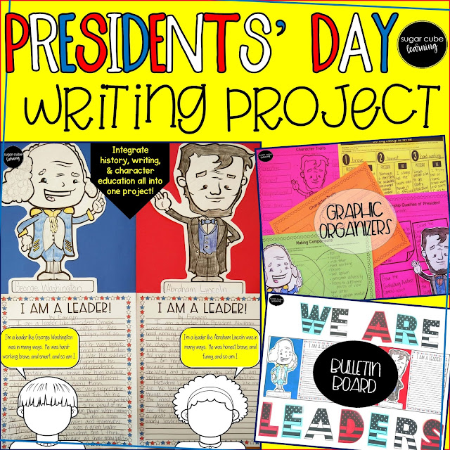 Presidents' Day Writing Project and Bulletin Board Display