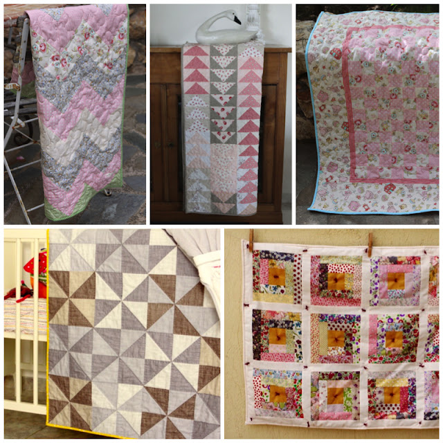 Second Set of Five Baby Quilts