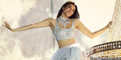 kajal agarwal navel showing dance stills
