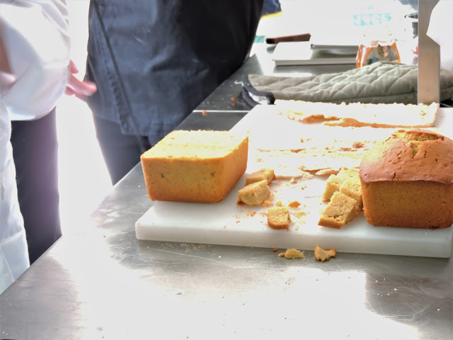 Couper un cake