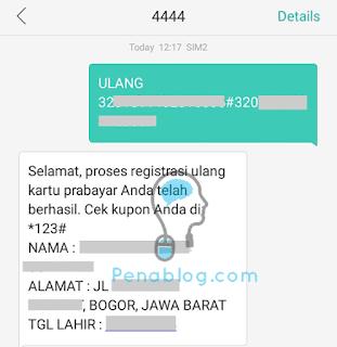 Begini Cara Registrasi Ulang Kartu Prabayar Telkomsel dan Indosat