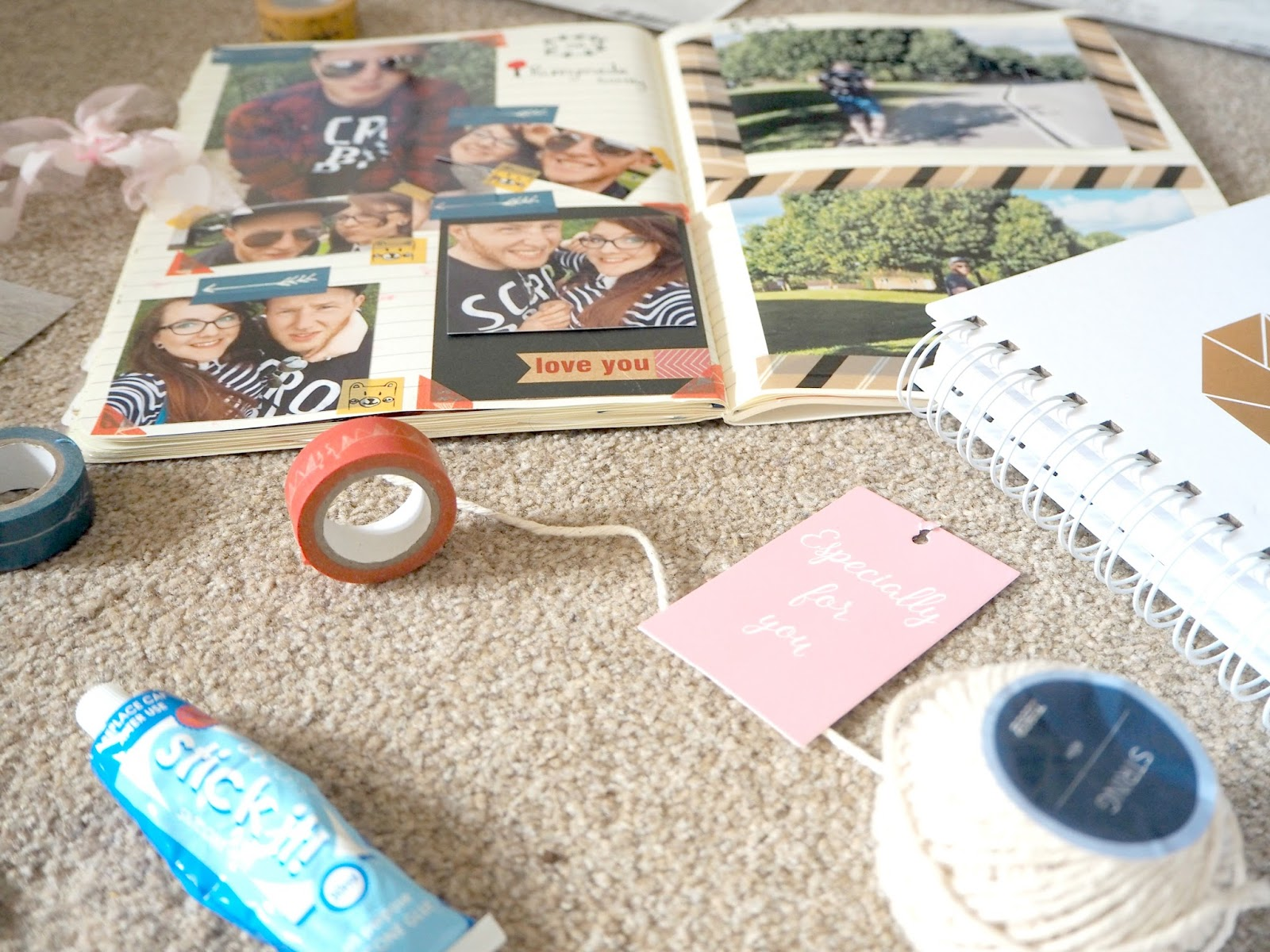 AT HOME DATE NIGHT IDEAS | Scrapbooking | Love, Maisie | www.lovemaisie.com