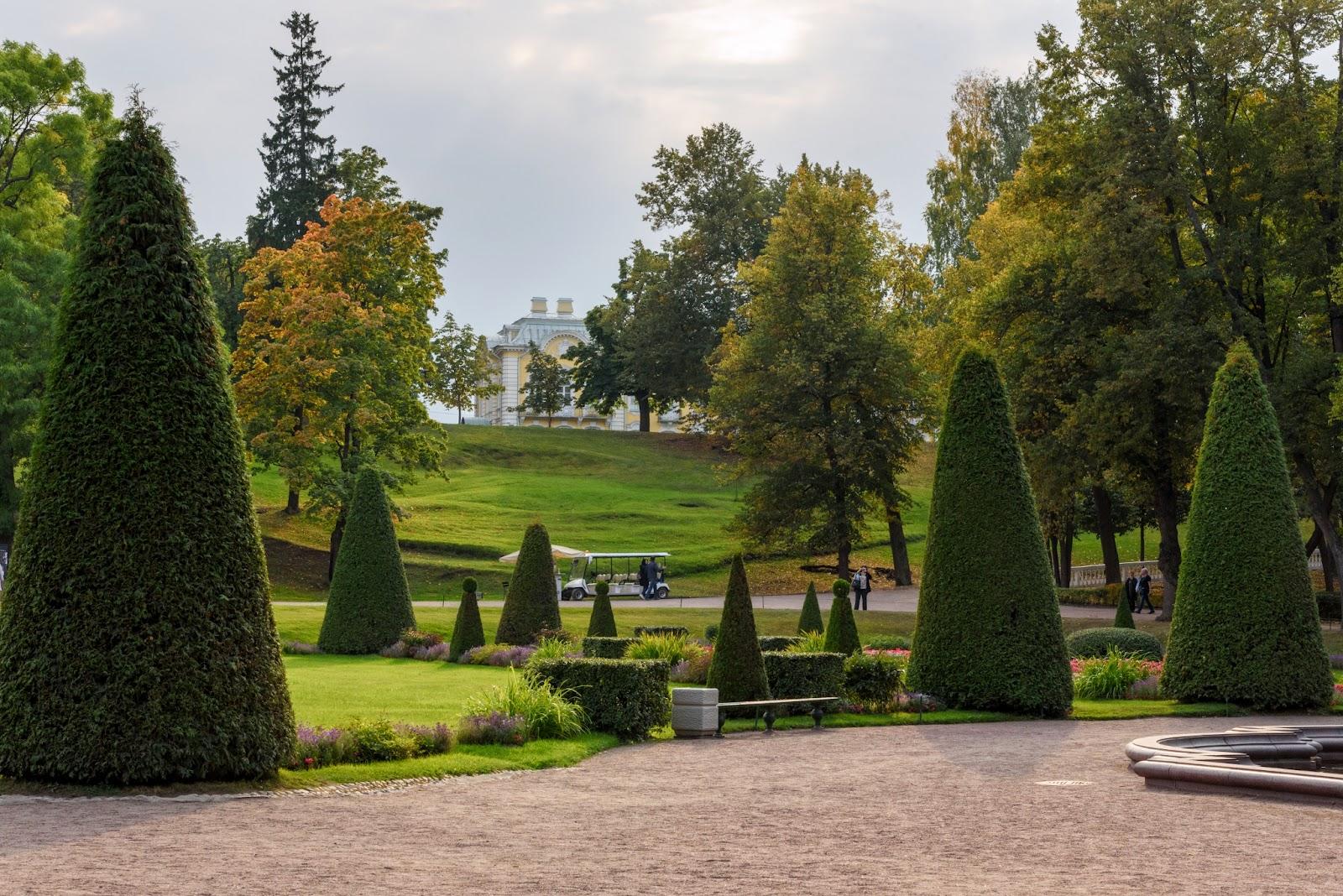 Петергоф. Парк. Фотография