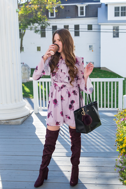 Vermont Fashion Blogger - Visit Stowe Maple Latte