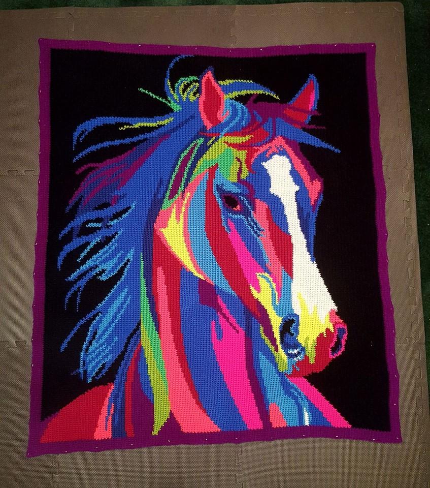 Horse Blanket (Pattern Instructions)