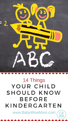 14 Things Your Child Needs to Know Before Kindergarten | Kindergarten readiness skills | Kindergarten | #kindergarten
