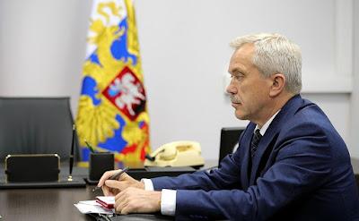 Belgorod Region Governor Yevgeny Savchenko.
