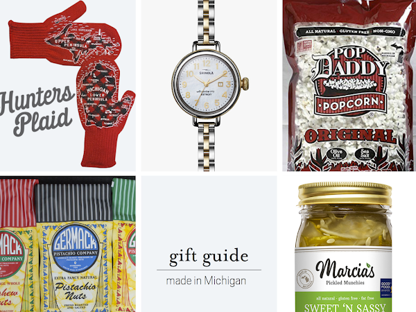 Gift Guide: Made in Michigan