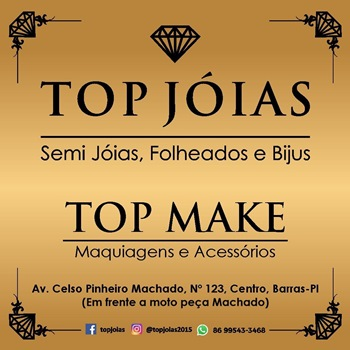 TOP JÓIAS E TOP MAKE