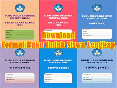 Download Kumpulan Format Buku Induk Siswa Lengkap