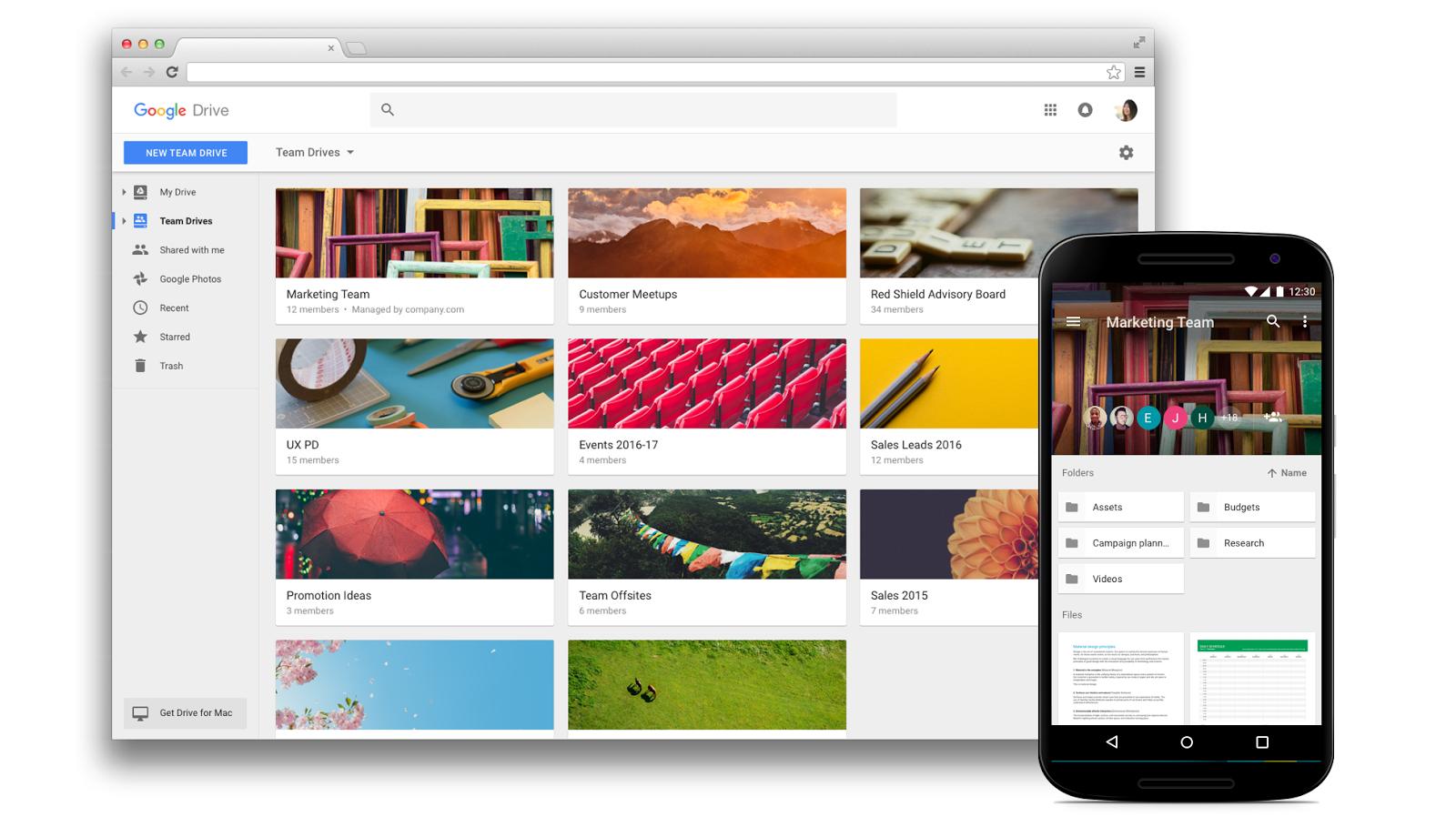G Suite - Google Drive for Teams