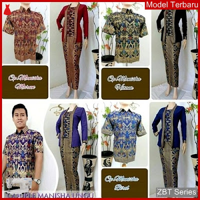 ZBT03309 Kebaya Batik Couple Manisha Dress Remaja BMGShop