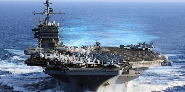 Οι ΗΠΑ στέλνουν 2 αεροπλανοφόρα εναντίον της Κίνας!