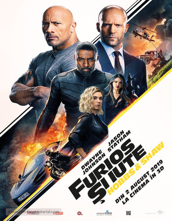 Fast & Furious: Hobbs & Shaw (2019) Dual Audio Hindi 480p HC HDRip