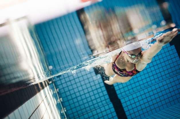Natação ou esportes aquáticos em geral: 18%