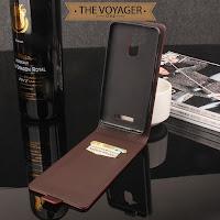Casing flip case cover lucu unik Asus Zenfone 3 Max ZC520TL leather case casing kulit vintage original mewah elegan premium the voyager style