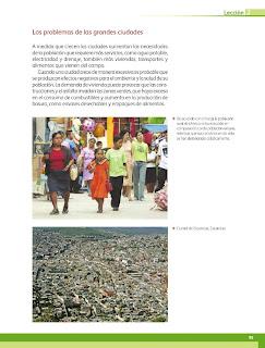 Apoyo Primaria Geografía 4to. Grado Bloque III Lección 2 Cuando las ciudades crecen