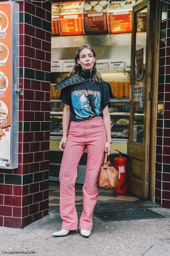 Irina Lakicevic London Fashion Week LFW SS17 Street Style