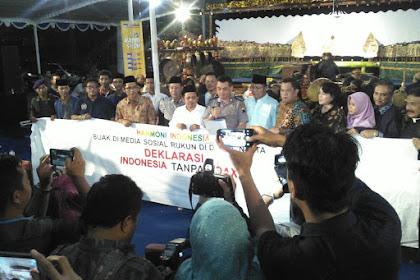 Jaga NKRI, Deklarasi Masyarakat Anti Hoax