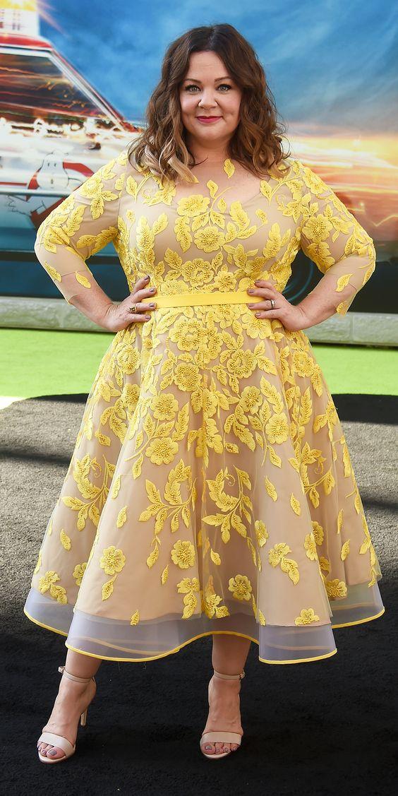 Disenos de vestidos elegantes para gorditas