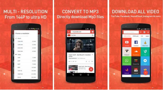 snaptube APK video downloader