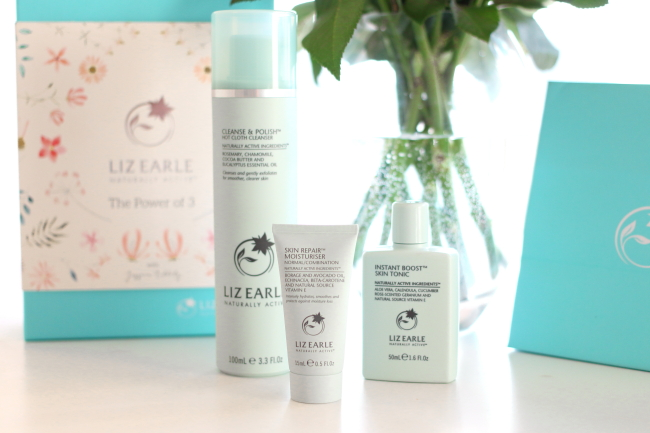 Liz Earle, The, Power, of, three, gift, set, spring, cleanse, and, polish, hot, cloth, cleanser, mothers, day, guide, beauty, blogger, uk