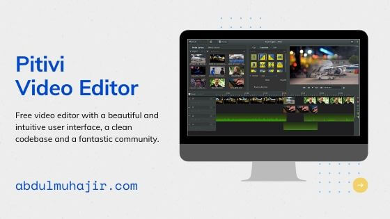 pitivi Software Video Editing