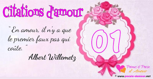 Citation d'Albert Willemetz sur l'amour