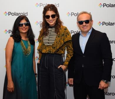 Anushka Sharma Unveils Polaroid Eyewear Collection for Fall/Winter 2017