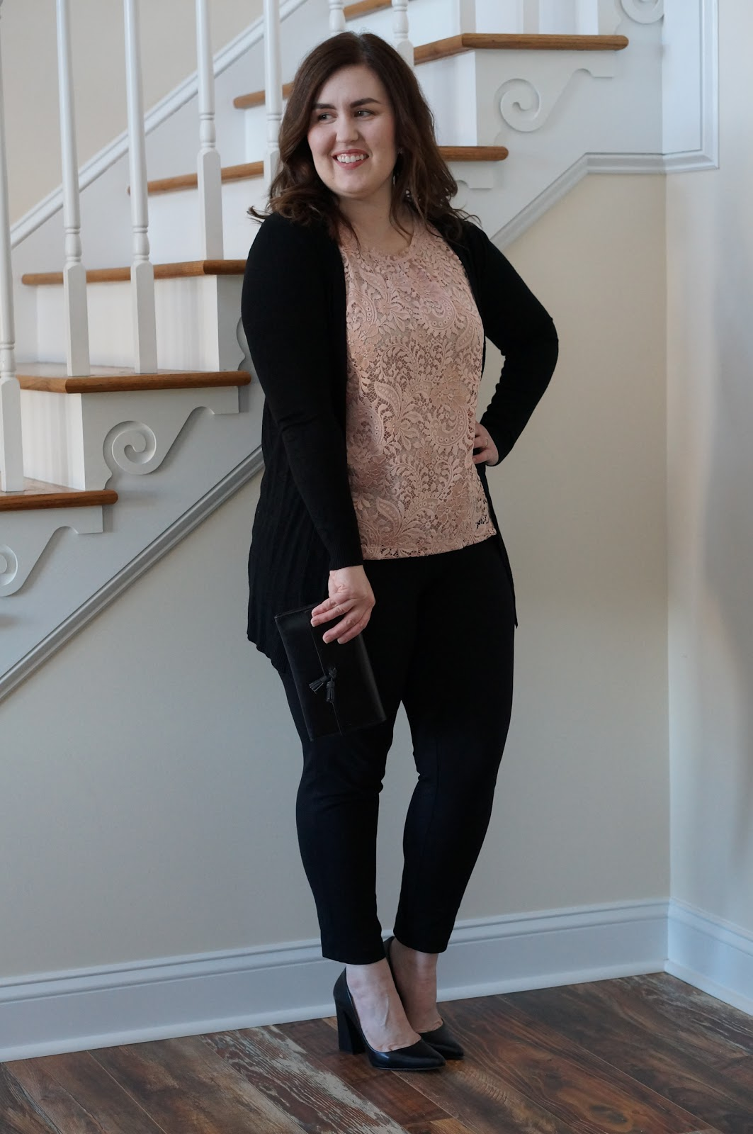 North Carolina style blogger Rebecca Lately shares her Valentine's Day look for work!  Check it out here!