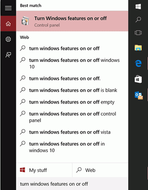Virtualization in Windows 10 Features
