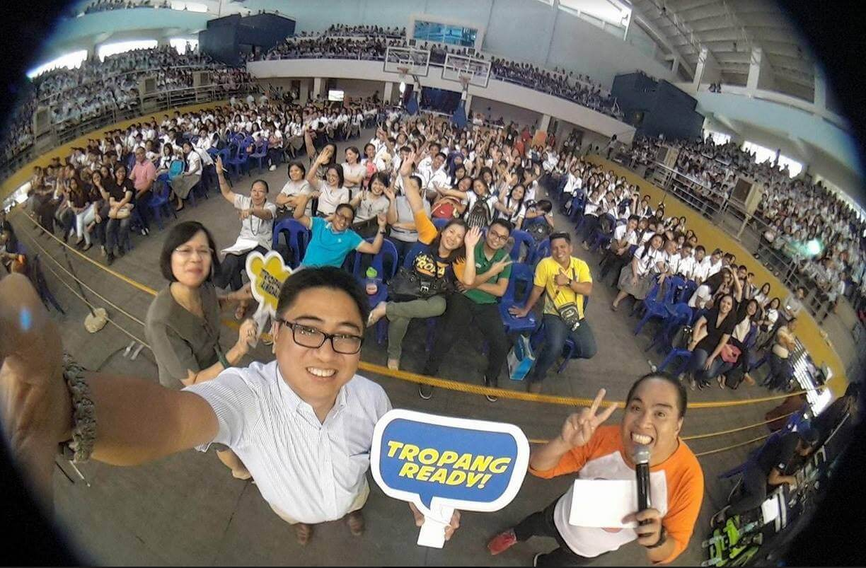 Smart's TNT Tropang Ready Caravan Builds Up Youth's Disaster Resilience