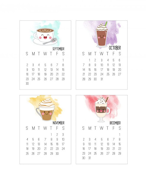 2018 Kawaii Calendar