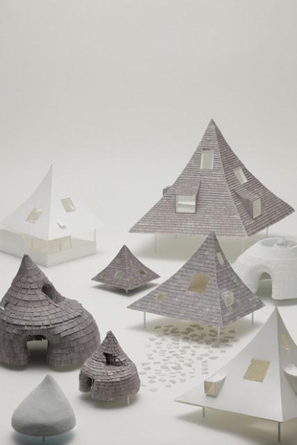 建築は模型も面白い。想像力溢れるクリエイティブな模型。9つ【Architecture】 千ヶ滝の別荘