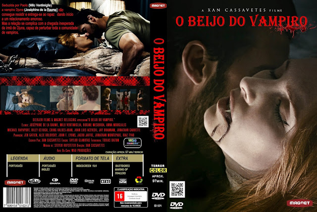 Capa DVD O Beijo Do Vampiro