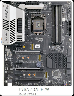 Lineup Motherboard EVGA Z370 Support Coffee Lake