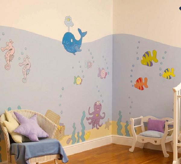 Decoracion De Cuartos Dormitorios Paredes Cortinas Ventanas - Decoracin-paredes-infantiles