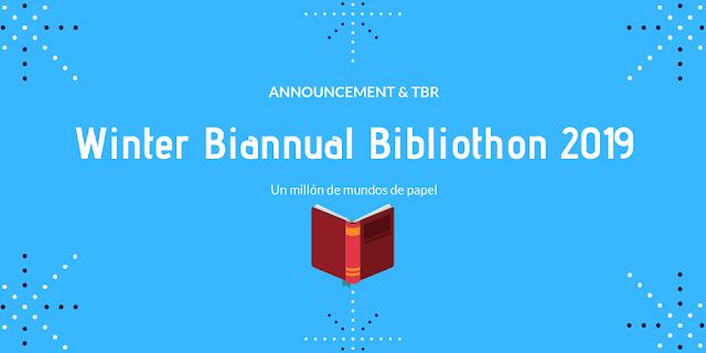 winter biannual bibliothon 2019